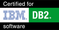 Certified for IBM DB2 software